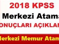 2018 KPSS Merkezi Atama Sonuçları Açıkladı!