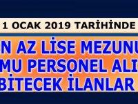 1 Ocak 2019'da Başvurusu Bitecek Tübitak Çok Sayıda Kamu Personeli Alımı