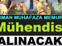 Orman muhafaza memuru alımı ve mühendis alımı sonuçlar 2020