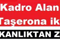 Kadro Alan Taşerona iki Bakanlıktan ZAM!