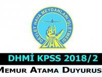 Devlet Hava Meydanları KPSS 2018/2 Devlet Memuru Atama Duyurusu
