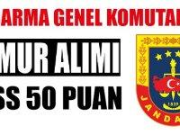 Sahil Güvenlik Akademisi KPSS 50 puan ile sivil memur alımı