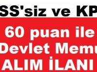 Belediyeler Birliği KPSS'siz ve KPSS 60 puan ile 11 Kamu Personeli Alımı