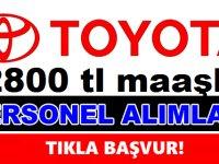 Toyota İŞKUR üzerinden 800 işçi alarak fabrika kapılarını açıyor