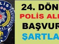24. Dönem POMEM Polis Başvuru İşlemleri ve Genel Şartlar