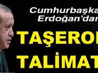 Erdoğandan Taşeron Talimatı