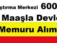 TÜBİTAK Marmara Araştırma Merkezi 6000 TL Maaşla Devlet Memuru Alımı