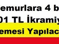 Memurlara 4 bin 701 TL İkramiye Ödemesi Yapılacak.