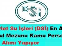 Devlet Su İşleri (DSİ) En Az İlkokul Mezunu Kamu Personeli Alımı Yapıyor