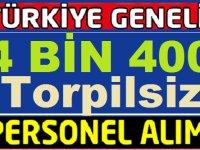 İşkur TYP kapsamında 4 Bin 400 Kamu Personeli Alım ilanı