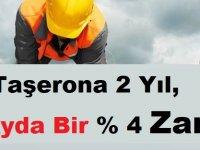Kadrolu Taşerona İki Yıl, Altı Ayda Bir % 4 Zam!