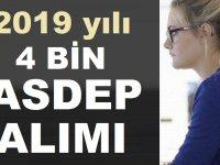 2019 ASDEP Personeli alımları