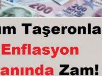 Tüm Taşeronlara Enflasyon Oranında Zam!