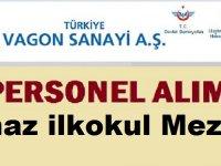 Türkiye Vagon Sanayii AŞ Kadrolu 26 İşçi Alıyor