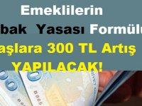Emeklilerin İntibak Yasası Formülü! Maaşlara 300 Lira Artış Yansıyacak