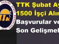 Türkiye Taş Kömürü Kurumu TTK Şubat Ayı 1500 İşçi Alımı Başvurular ve Son Gelişmeler