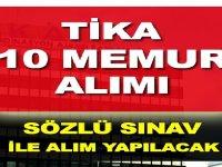 Türk İşbirliği ve Koordinasyon Ajansı Başkanlığı Kamu Personeli Alım ilanı