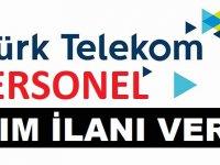 Türk Telekom Çağrı Merkezi ve Bayileri Farklı Kadrolara 5 Şehirde Personel Alımı