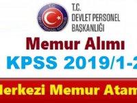 2019 Yılı KPSS Merkezi Atama Takvimi Açıklandı