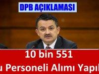 Tarım Bakanlığına 10 Bin 551 Kamu Personeli Alımı Yapılacak