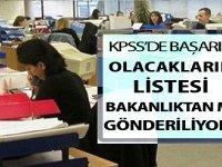 KPSS'de Başarılı Olacakların Listesi Bakanlıktan mı Gönderiliyor?