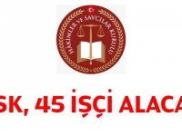 Hakimler ve Savcılar Yüksek Kurulu En az Orta öğretim mezunu Daimi 49  Kamu Personeli Alımı