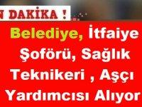 Burdur Bucak Belediyesi İtfaiye Şoförü, Sağlık Teknikeri ve Aşçı Yardımcısı Kamu Personeli Alımı