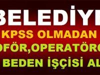 Mersin MUT Belediyesi MUTİŞ Gıda 6 Kamu Personeli Alım ilanı