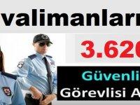 Havalimanlarına 3 Bin 619 Güvenlik Görevlisi Alınacak