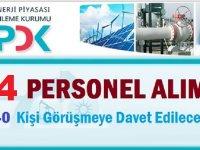 Enerji Piyasası Düzenleme Kurumu EPDK Kamu Personeli Alım İlanı
