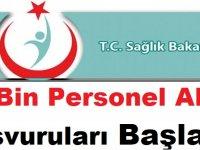Sağlık Bakanlığı 25 Bin Personel Alımı Başvuruları Başladı