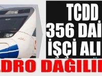 TCDD KPSS Şartsız Lise Mezunu 356 Daimi İşçi Alımı Kadro Dağılımı