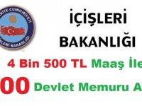 İçişleri Bakanlığı 1200 Kamu Personeli Alımı Başvuru Sonuçları