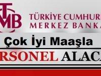 Merkez Bankası Kadrolu Memur Alımları 2020
