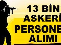 Milli Savunma Bakanlığı 13 Bin Kamu Personel Alımı