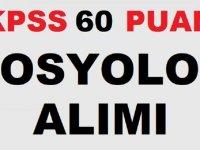 Kocaköy Belediyesi KPSS 60 Puanla Sosyolog Alım İlanı
