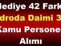 Belediye 42 Farklı Kadroda Daimi 387 Kamu Personeli Alımı