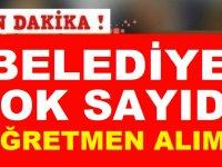 Aydın Dibel Belediyesi Çok Sayıda Öğretmen Kamu Personeli Alımı
