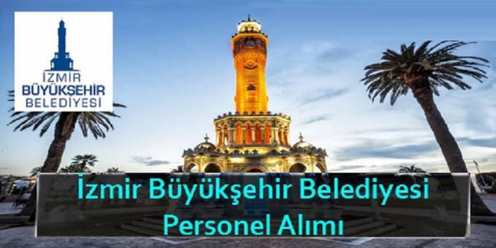 İzmir Büyükşehir Belediyesi İzbaş Turizm 50 kamu personeli alımı