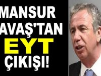 """Mansur Yavaş'tan """"EYT"""" açıklaması"""