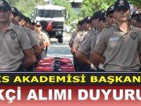 Polis Akademisi 5 Mart 8 Bin Bekçi Alım Duyurusu