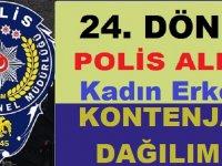 15 Bin Polis Alımı Kadın Erkek Kontenjan Dağılımı Belli Oldu