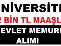 Marmara Üniversitesi 12 Bin TL Maaşla Kamu Personeli Alımı