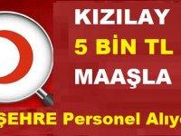 Türk Kızılay 5 Bin TL Maaşla 10 Şehire Sosyal Hizmet Personeli Alımı Yapıyor