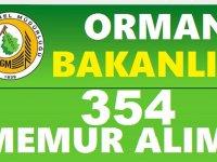Orman İşletmeMüdürlükleri 345 Kamu Personeli Alımı