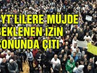 Büyük İstanbul EYT Mitingine İzin Çıktı