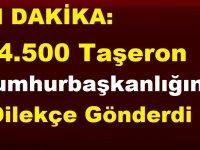 4.500 KİT Taşeron Cumhurbaşkanlığına Dilekçe Gönderdi