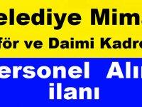 Eskişehir Belediyesi Şoför, İç Mimar ve Kadrolu Personel İş İlanı 2019