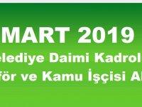 Konya Doğanhisar Belediyesi Daimi Kadrolu Şoför ve Kamu İşçisi Alımı