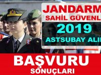 Jandarma ve Sahil Güvenlik Komutanlığı Astsubay Alımı Sonuçları 2019